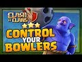 "How to Control your Bowlers in ""Clash of Clans"" - War Attack Strategy [2018]"