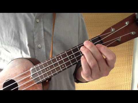 All Major Ukulele Chords in Three Shapes