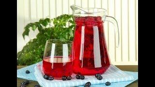 Компот из замороженных ягод /Просто и вкусно/