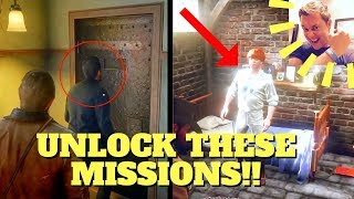 4 SECRET MISSIONS YOU CANNOT MISS!! Red Dead Redemption 2 BACKROOM Collection!