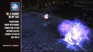 Infinite Crisis (2013) HD   Обзор персонажа Zatanna