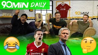 90 MIN DAILY | Liverpool to reach CL semi's after 7-0 vs Moscow!? | Man City CL loss shows Man U could beat them!