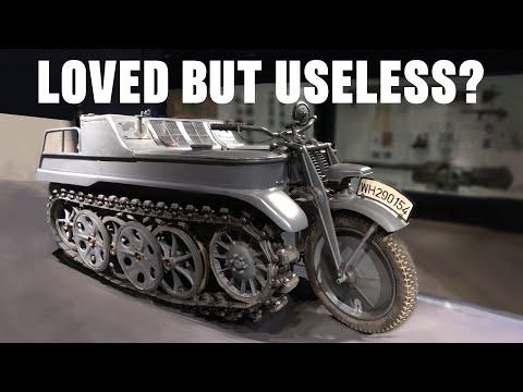 Was the Kettenkrad useless?