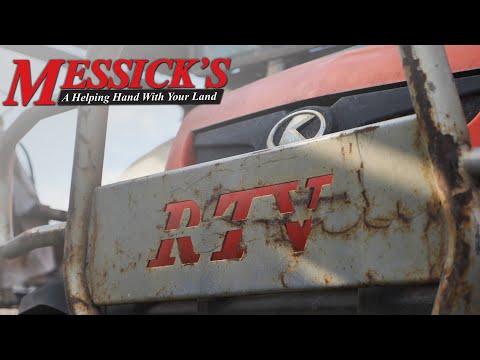 Messick's $89 Bluetooth Radio for Kubota Tractors - YouTube on