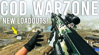 Call of Duty Warzone - Using NEW Loadouts!