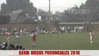 final del provincial 2010 reyes vs rurrenavaque (2 de 2)