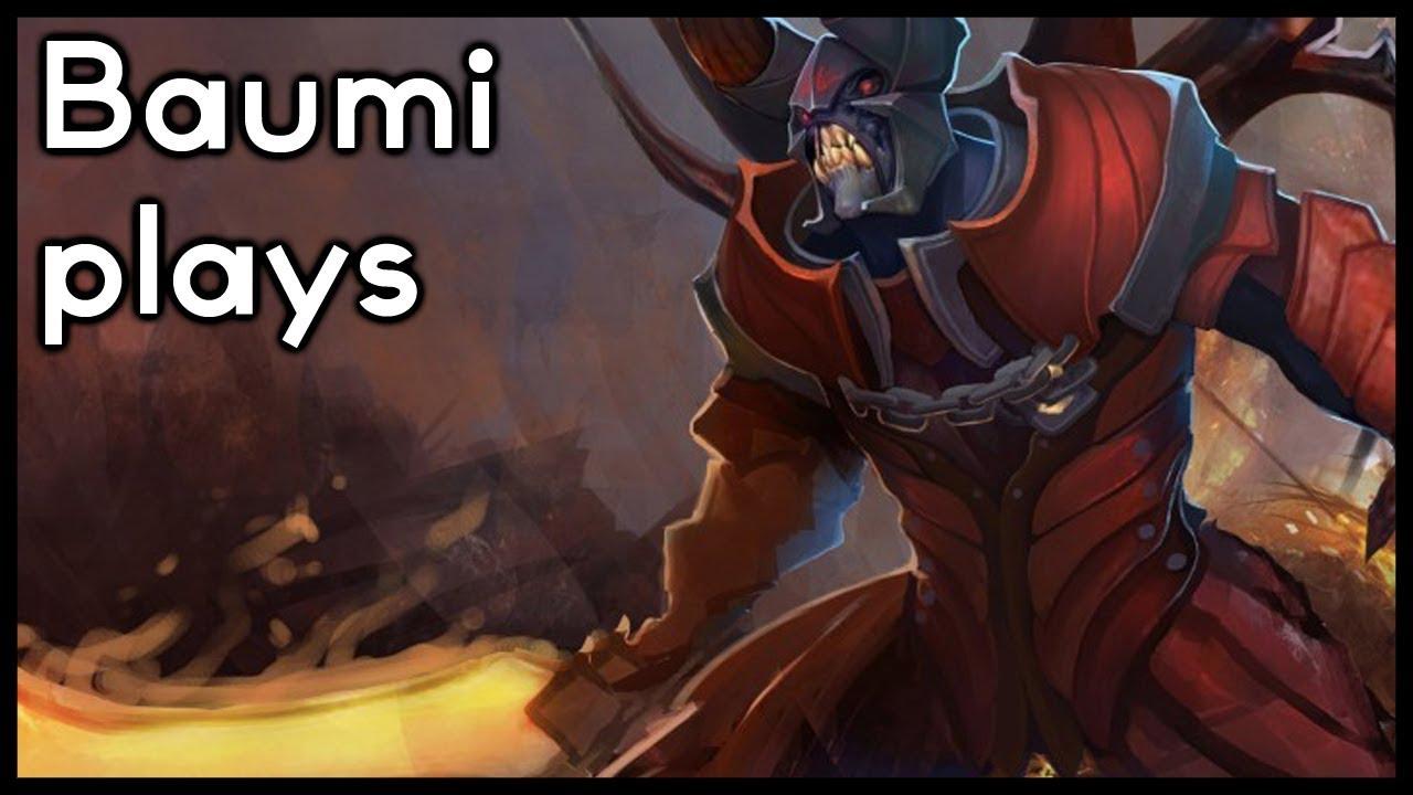 Dota 2 DEVOUR DOOM IS BACK Baumi Plays Doom YouTube