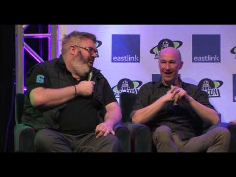 Hal-Con 2014 - Game of Thrones Pannel with Ross Mullan & Kristian Nairn