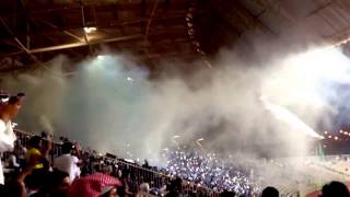 Fans Alhilal In Mecca ( The largest fan base in Asia ) - جماهير الهلال في مكة 2017 Video