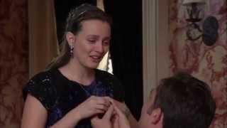 Chuck Bass proposes to Blair Waldorf  Gossip Girl 6x10 Series Finale [HD]