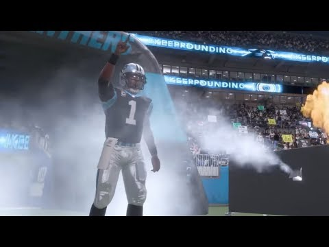 Madden NFL 18 Gameplay | Carolina Panthers Vs Miami Dolphins Monday Night Football Week 10