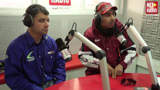 MOUL KASKETA ET DOMINIQUE (MARI DE SINA) DANS LE MORNING DE MOMO - 11/02/2014