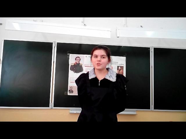 Изображение предпросмотра прочтения – МаринаВиденина читает произведение «Парус (Белеет парус одинокий…)» М.Ю.Лермонтова