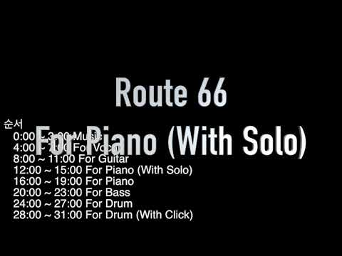 Route 66 : Backing Track (Swing Jazz)