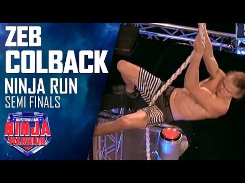 Zed Colback (Semi Final) | Australian Ninja Warrior 2018