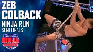 Zed Colback (Semi Final) | Australian Ninja Warrior 2018 thumbnail