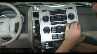 2008 Ford Escape Stereo Replacement - Aftermarket Radio Head Unit Installation