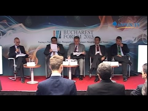 Regional Lynchpin: Geopolitical and Geo-economic Choices for Turkey - Bucharest Forum 2015