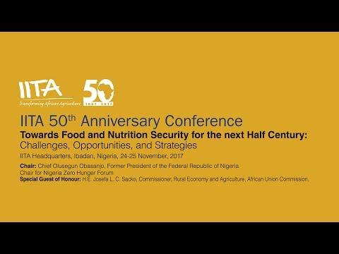 IITA 50th Anniversary Conference