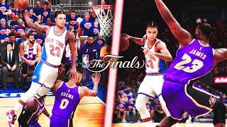 NBA 2K21 - Game 4 : Tout proche des 100 points, j'ai affronté un duo LeBron/AD en mode MVP !