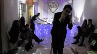 Alfredo Wedding Lima Peru groom words and performance