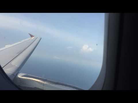 Avianca TA314 A320-233 (N683TA) Descending, Landing and Taxing at San Salvador Intl. Airport.