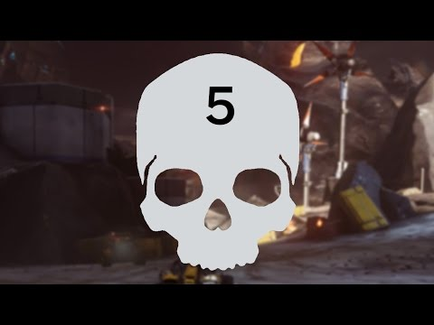 Halo 5 Thunderstorm Skull - Mission 6: Evacuation Walkthrough
