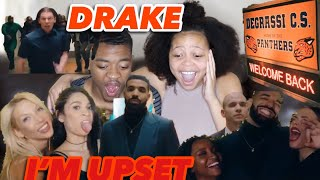 DEGRASSI REUNION? DRAKE- I'M UPSET MUSIC VIDEO REACTION