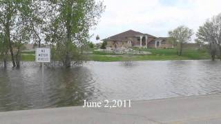 North Dakota Flooding June 2,2011 (Little Muddy River, Williston,ND).wmv