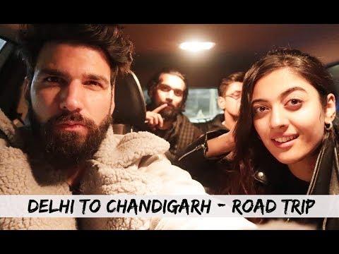 Delhi To Chandigarh | Road Trip | Mohit Chhikara Vlog