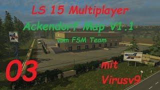 LS 15 Multiplayer Ackendorf #3 Eine Burgparty und das neue Anno [german/deutsch]