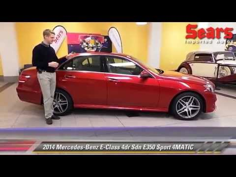 New 2014 mercedes benz e class e350 sport 4matic for Mercedes benz bloomington mn
