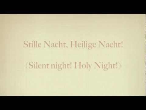Stille Nacht (German Pronunciation)