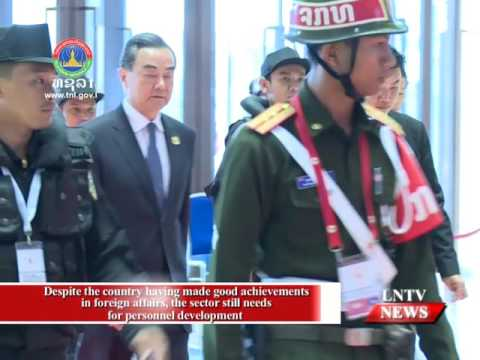 Lao NEWS on LNTV:  Despite the country having made good achievements in foreign affairs.15/12/2016