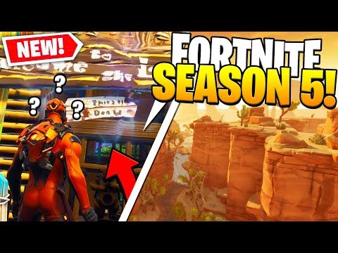 NEW FORTNITE PORTAL RIFT?! FORTNITE SEASON 5 IN A DIFFERENT MAP?! FORTNITE ROCKET LAUNCHED!