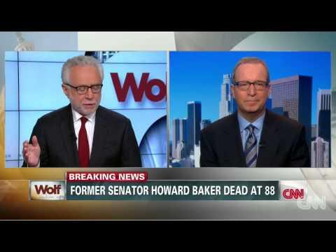 Ex US Sen  Howard Baker Jr  Dies
