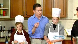 Rainbow Quinoa Recipe - Kids In The Demonstration Kitchen