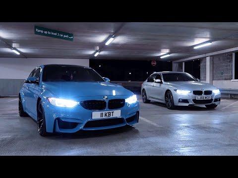 bmw-m3-vs.-bmw-335d-xdrive!-(rolling-race)
