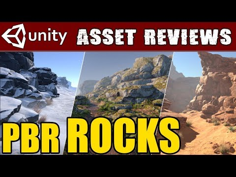 Unity Asset Kit Reviews - PBR Rocks! Free Asset Competition!