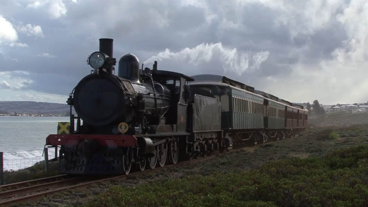 Railways Of South Australia  Steam On The Cockle Train