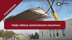 Talopaketin hinta – Kiiruna Talot rakentaa kustannustehokkasti, pystytys yhden työpäivän aikana
