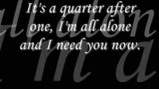 need you now by lady antebellum lyrics on screen