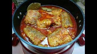 Рыба в томатно овощном соусе Простой изумительный рецепт