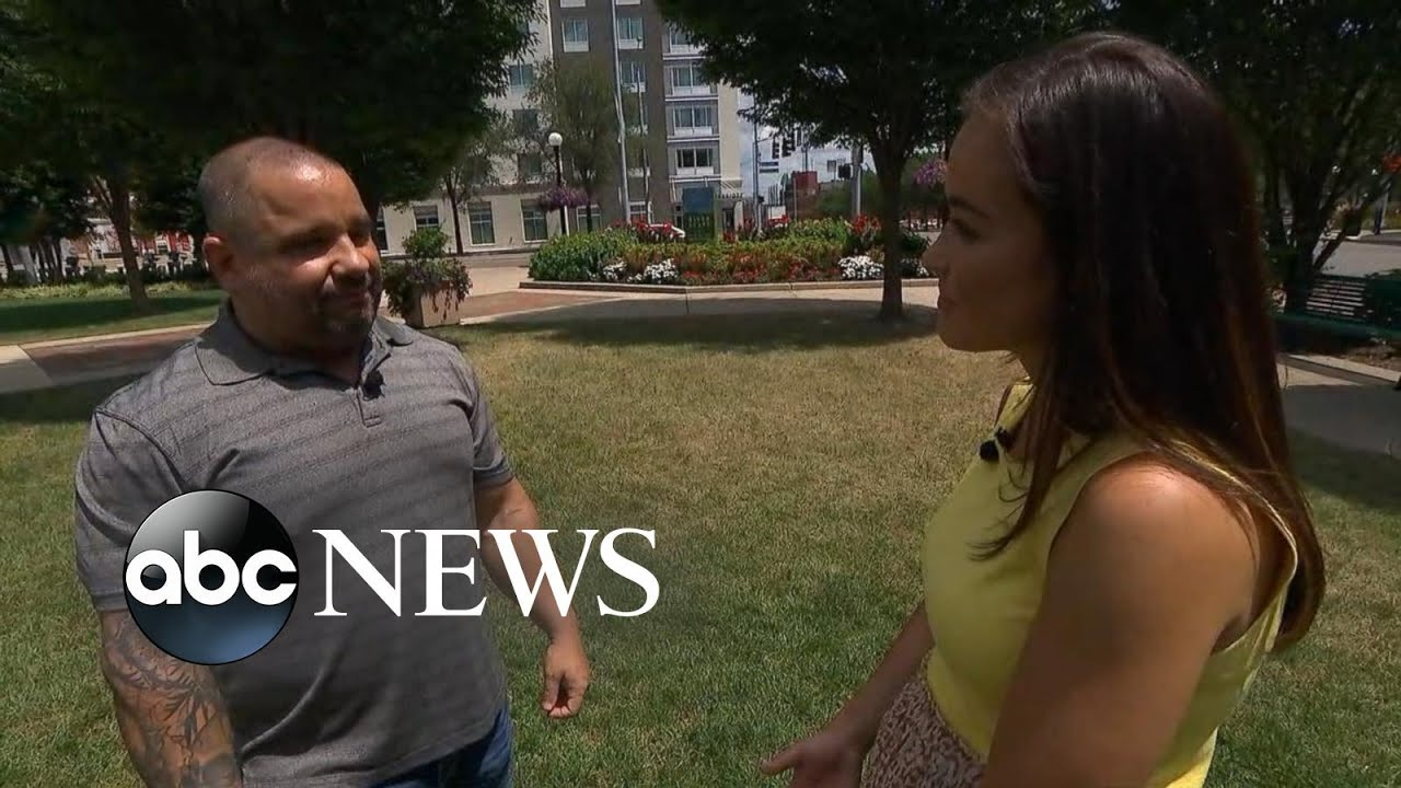 Dayton hero recalls 'dead stare' in killer's eyes l ABC News