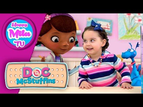Doc Mcstuffins Pet Vet Magic Talking Doc And Clinic Доктор Плюшева donny alma | Happy Mila TV #41