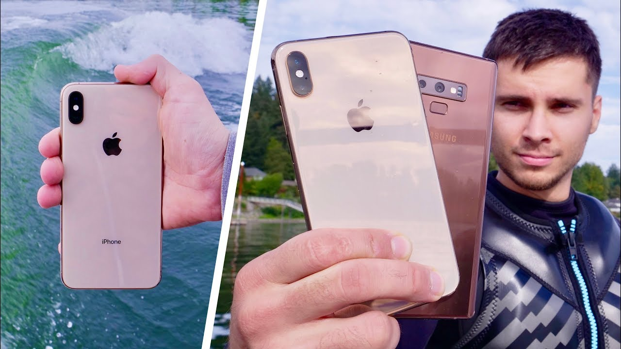 check out c96c7 8fe08 iPhone XS Water Test! Finally Waterproof!?