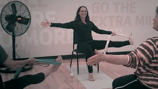 (1 Hr) Chair Yoga in ASL (American Sign Language) with Sabrina Patino