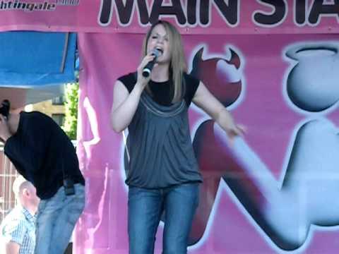 Jessica Garlick at Birmingham Pride
