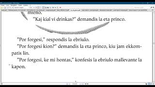 Esperanto with the  Little prince/ Chapter 12