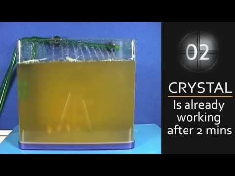 Treatment To Clear Pond Green Water- Hydra Crystal Video UK